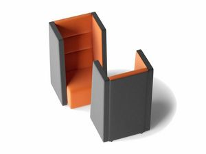 TRES, Akustischer Sessel mit hoher Rückenlehne
