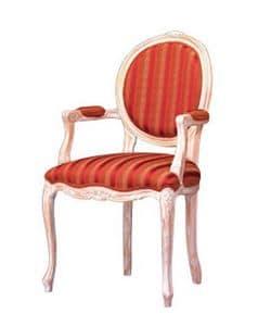 1051, Stuhl mit Armlehnen für Covered klassischen Restaurant