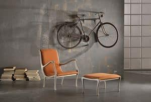 AMELIE Sessel 8399A, Klassischer Sessel mit anpassbaren Veredelungen