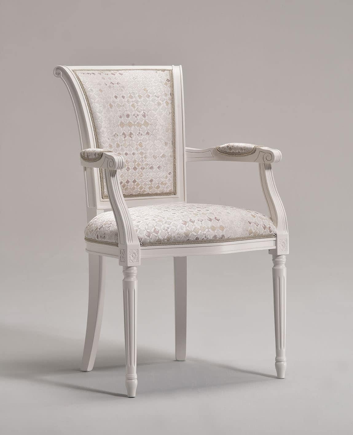 KELLY armchair 8021A, Klassischen Stil Sessel mit gepolsterten Armlehnen