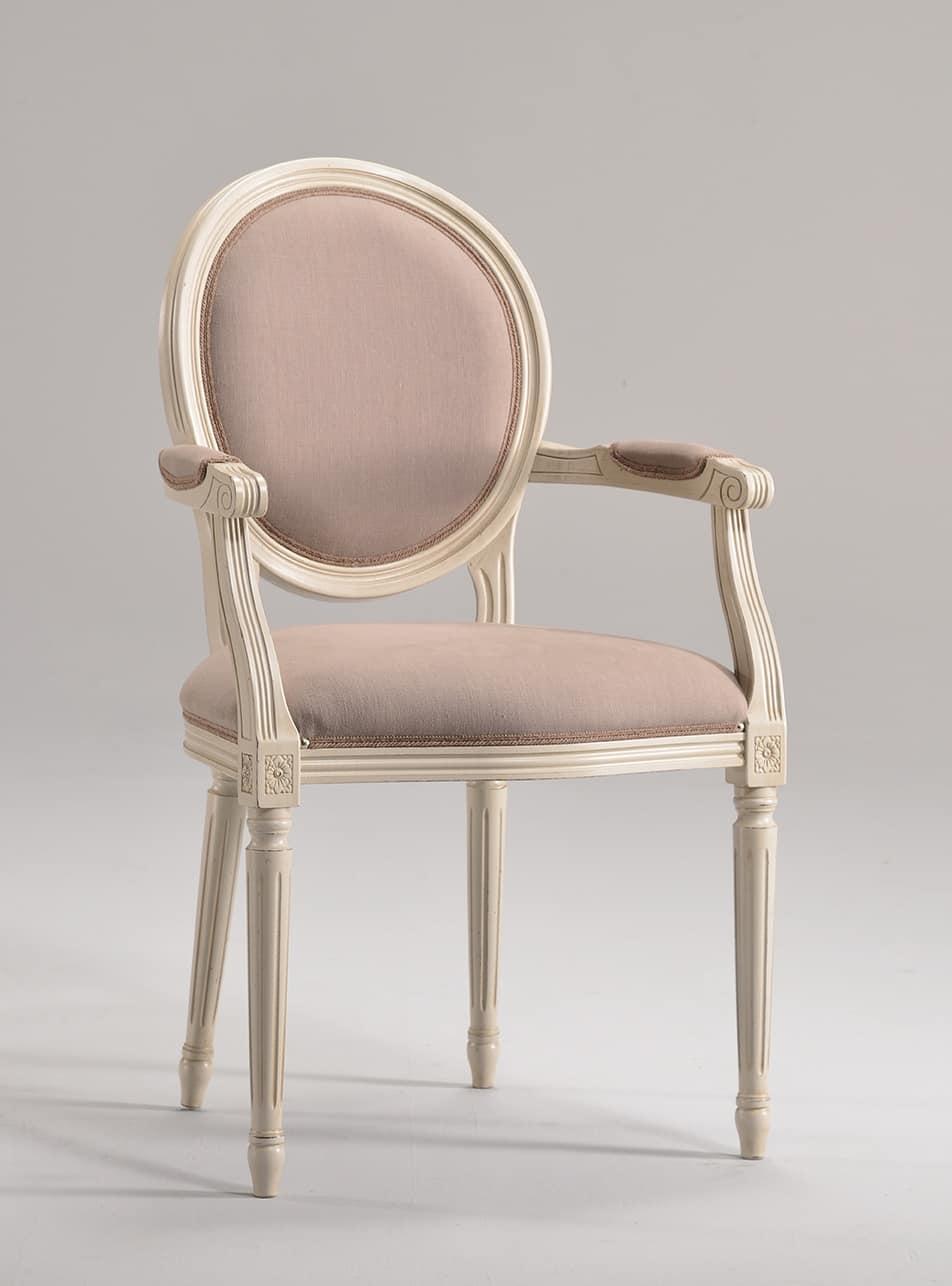 Stuhl Kopf des Tisches, Louis XVI-Stil, anpassbare | IDFdesign