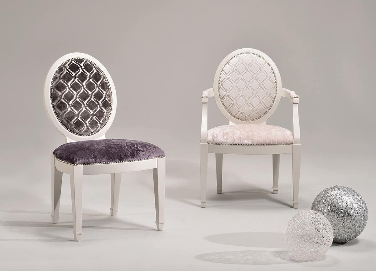 Anpassbare stuhl mit armlehnen klassischer stil idfdesign for Klassischer stil
