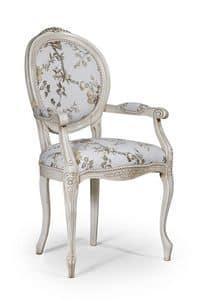 m bel st hle klassischen stil mit armlehnen r ckenlehne medaillon form idfdesign. Black Bedroom Furniture Sets. Home Design Ideas