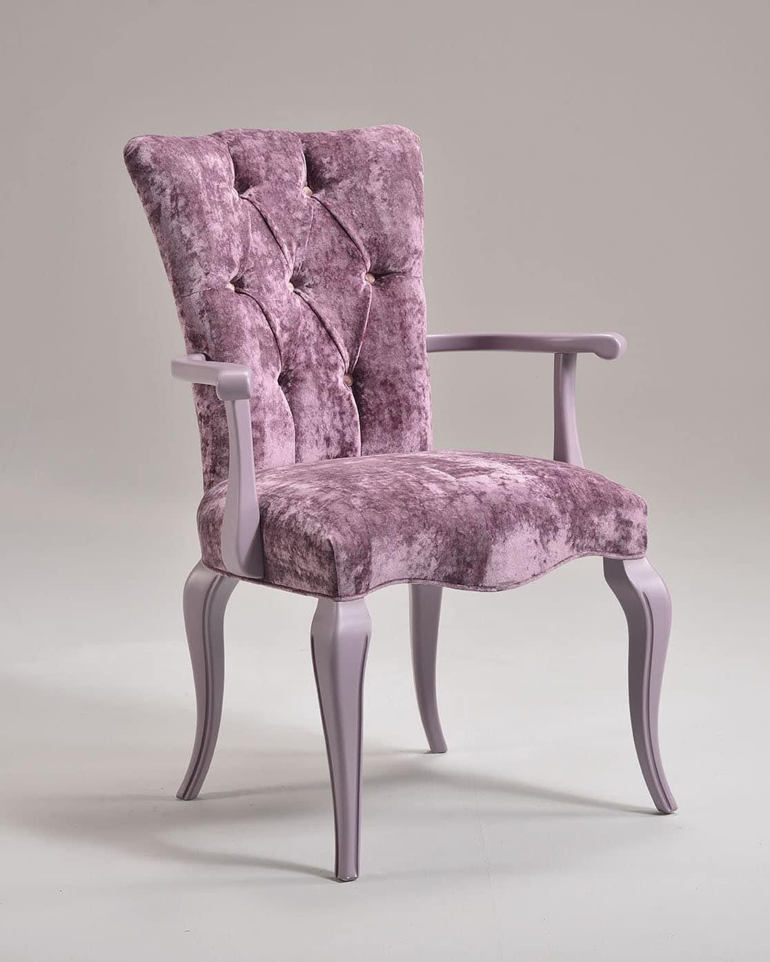 sessel mit gesteppter polsterung luxus im klassischen. Black Bedroom Furniture Sets. Home Design Ideas