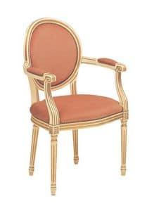 S08, Klassischer Stil Stuhl für raffiniertes Speiseräume