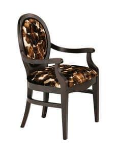 S11, Traditioneller Stuhl aus Holz, für Eingangshallen von Hotels