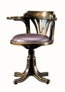 Vanessa FA.0161, Bentwood Drehsessel, in Luxus im klassischen Stil