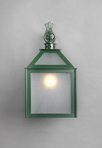 VETRI SOPRA GL3018WA-1AD, Laterne mit verzinktem Glas