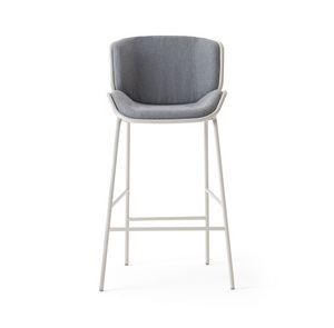 ART. 0083-MET SKIN STOOL, Metallhocker für drinnen und draußen