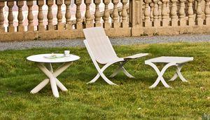 Barceloneta, Stapelbarer Sessel für den Außenbereich