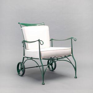 FLORIO GF4005AR, Gartensessel mit Rädern