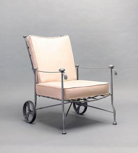 INTRECCIO GF4004AR, Sessel mit Rädern für den Außenbereich
