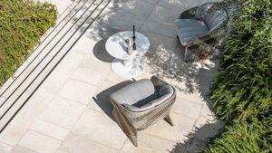 Maat poltrona lounge, Loungesessel mit breiter Sitzfläche, für den Außenbereich