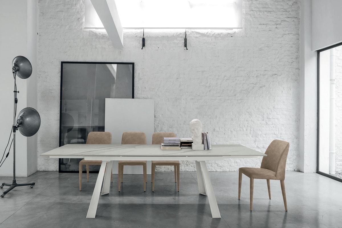 Moderner ausziehbarer Tisch | IDFdesign