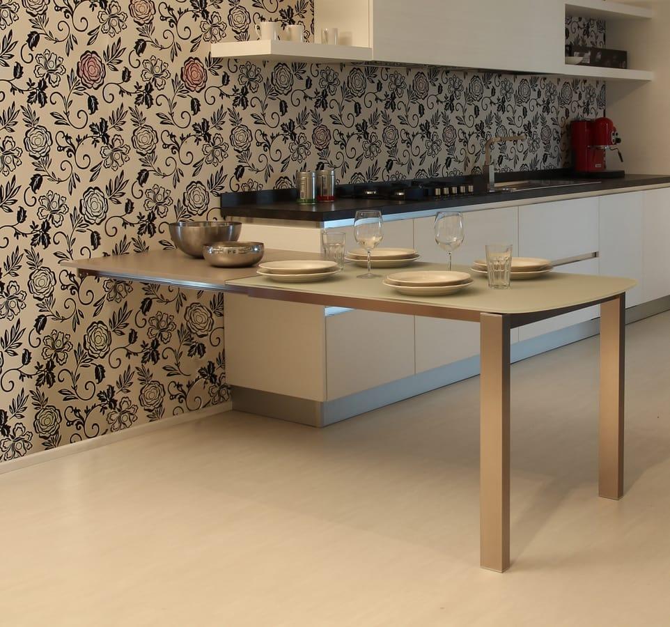 Erweiterbare Halbinsel für die Küche | IDFdesign
