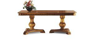 1466LQ/T, Rechteckiger Tisch mit ausziehbarer Platte