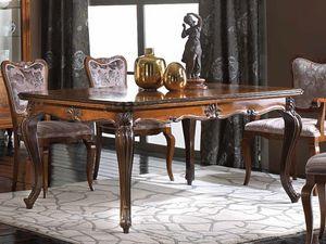 Alexander Tiche, Ausziehbarer Tisch im klassischen Stil