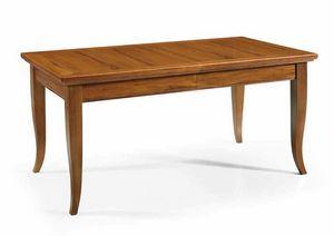 Art. 55, Holztisch mit ausziehbarer Platte