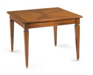Art. 56, Tisch mit ausziehbarer quadratischer Platte