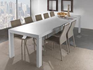 Art. 627 Wind, Ausziehbarer Tisch mit mehreren Erweiterungen, erhältlich in verschiedenen Ausführungen