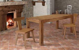 Art. 657, Holztisch mit ausziehbarer Platte