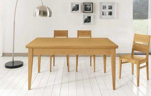 Art. 665, Tisch im zeitgenössischen Design mit Erweiterungen