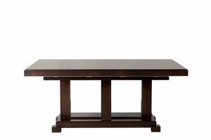 Downtown tavolo rettangolare, Ausziehbarer Tisch, aus Holz