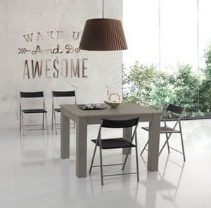 Zerospace, Platz Tisch erweiterbar auf bis zu drei Meter