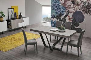 APOLLO 160 TA1C4, Tisch mit Laminatplatte und Verlängerungen