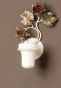 AB.8070, Zahnbürstenhalter mit Blumenschmuck
