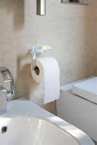 Kiri WC-Rollenhalter, Toilettenpapierhalter aus Edelstahl, minimalistischen Stil