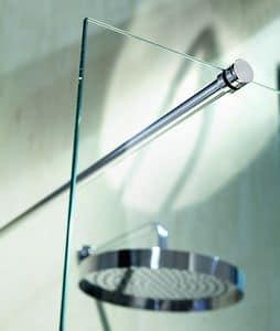 Nike 329-4, Runder Träger auf Wand für Duschen