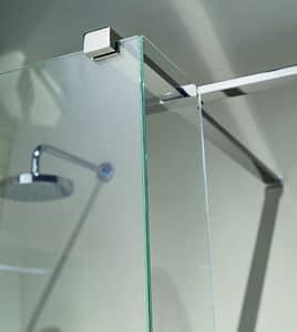 Nike 329-5, Quadratischer Träger auf Wand für Duschen