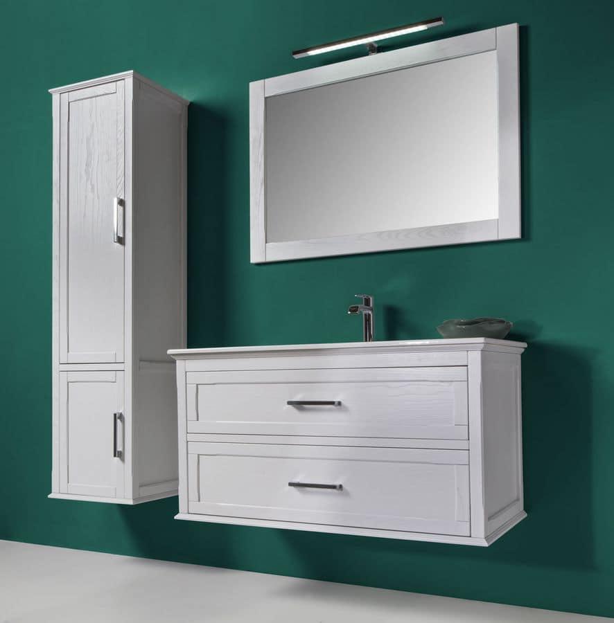 atena comp 1 badm bel mit badezimmerschrank spiegel und. Black Bedroom Furniture Sets. Home Design Ideas