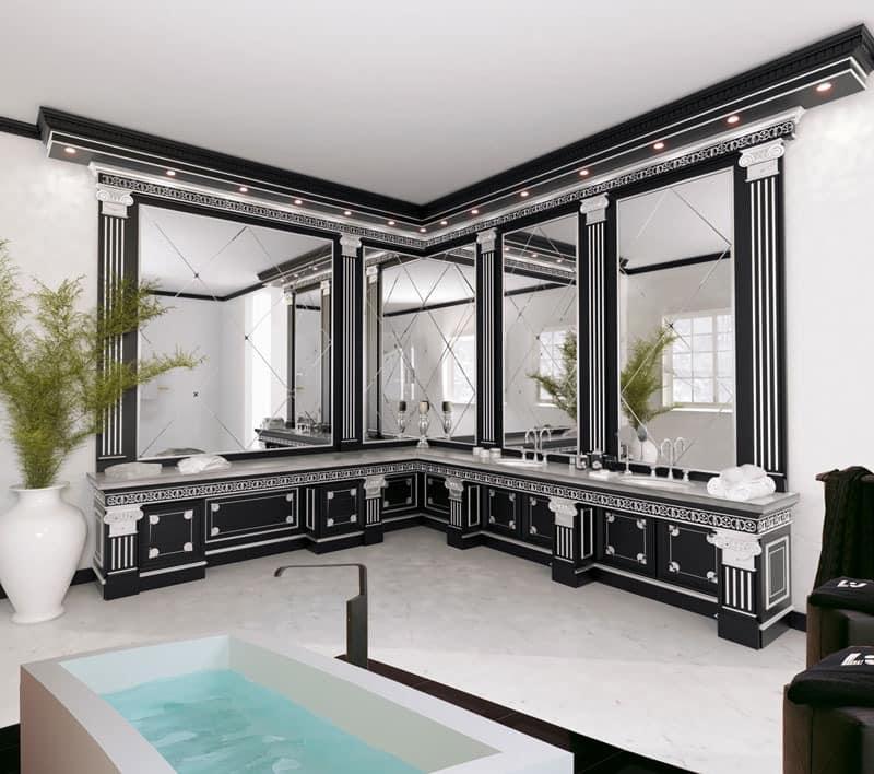elegante m bel f r badezimmer f r luxushotel idfdesign. Black Bedroom Furniture Sets. Home Design Ideas
