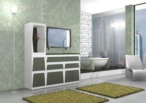 Bild von Badm�bel B2, waschbecken mit spiegel