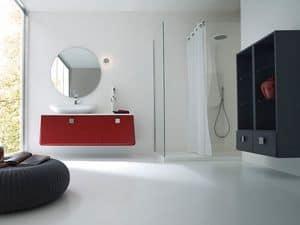 Bild von Campus 05, waschbecken mit spiegel