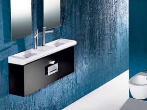 CURVET FURNITURE, Möbel für Badezimmer, verschiedene Dimensionen
