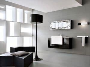 Bild von Memento 14, zusammensetzung mit spiegel und waschbecken