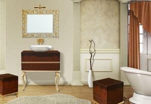 Bild von Retr� Chocolate comp.44DC, schrank-fuer-badezimmer