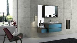 Torana TR 005, Badmöbel mit Waschbecken, modular und einfach