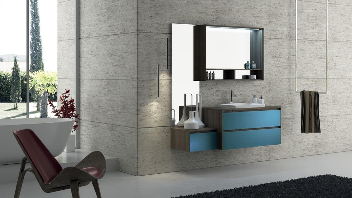 badm bel mit waschbecken modular und einfach idfdesign. Black Bedroom Furniture Sets. Home Design Ideas