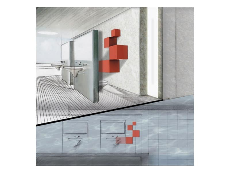Trealcubo comp.04, Modulares System für Möbel