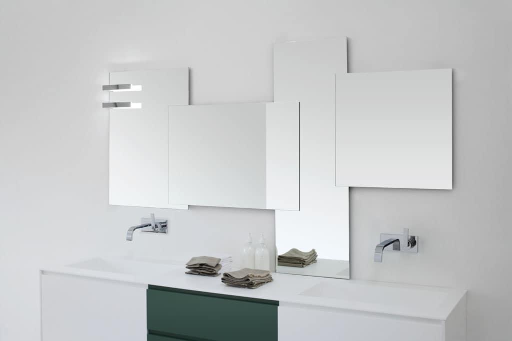 Modularer badezimmerspiegel idfdesign