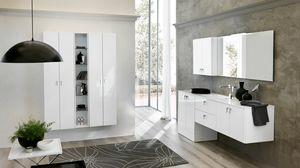 BLUES BL-21, Komplette Möbel für Badezimmer mit Waschtisch