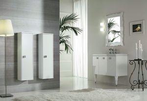 DECÒ D12, Lackierter Waschtischunterschrank mit Türen
