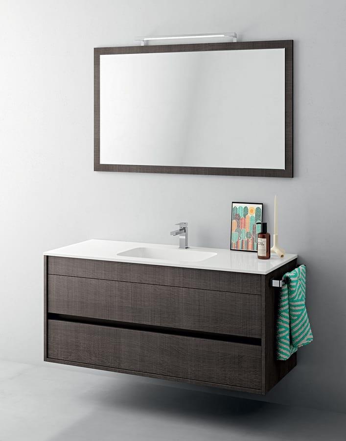 Kleiner Badezimmerschrank, mit Spiegel | IDFdesign