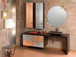 Glamour Rame AM58, Badezimmerschrank mit feinem Ende