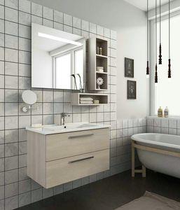 HARLEM H14, Wand-Waschtischunterschrank mit Schubladen