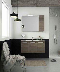 HARLEM H19, Hängender Waschtischunterschrank mit Türen